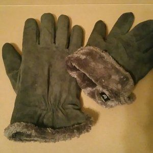Warm Suede gloves